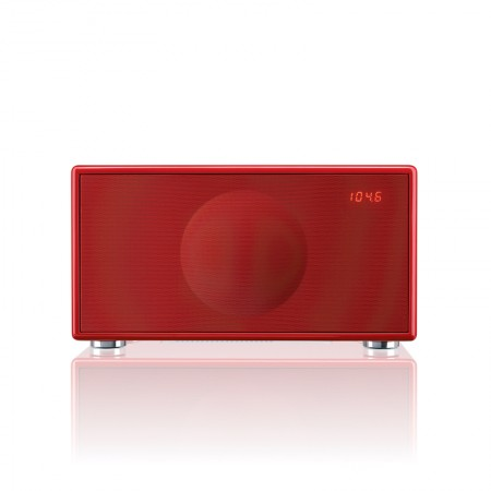 Geneva Model M Wireless - Bluetooth AptX - DAB+ radio HG Rood