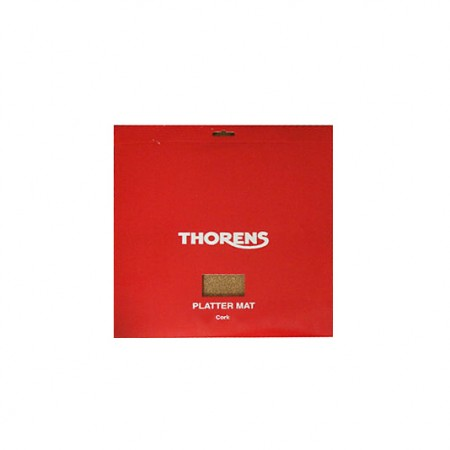 Thorens DM 207, draaitafel mat kurk