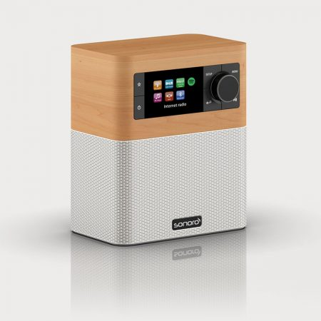 Sonoro Stream Wit - FM/DAB+ WiFi, Bluetooth aptX