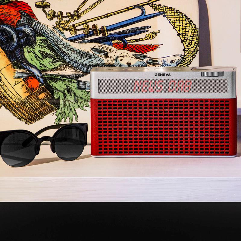 Geneva Touring / S - portable FM / DAB+ radio Bluetooth speaker