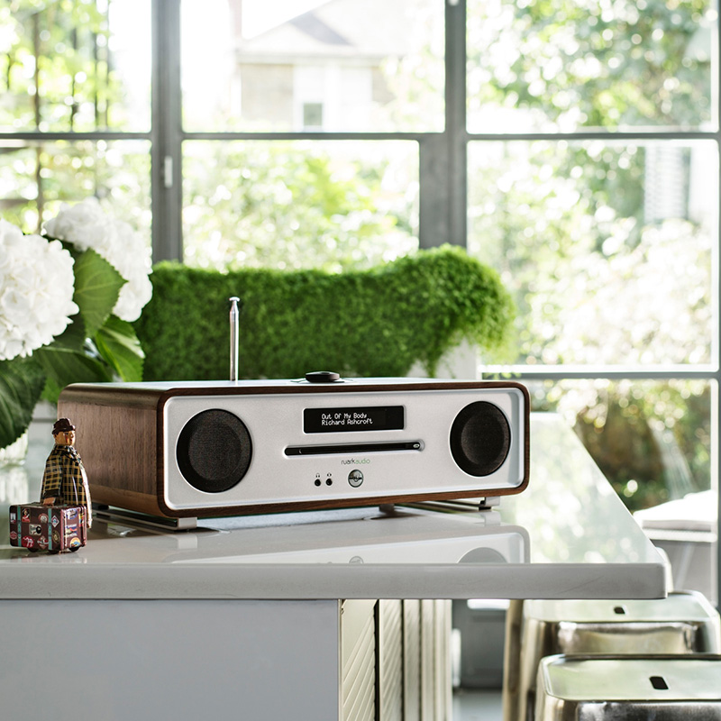 Ruark Audio R4 mk3 - CD-speler, DAB+ Radio, Bluetooth all-in-one