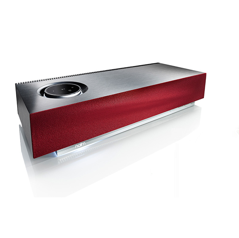 Naim Muso - Mu-so - All-in-one multiroom netwerkaudiospeler (Vibrant Red)