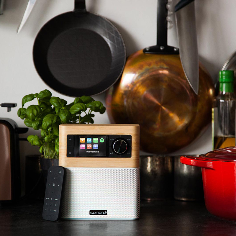 Sonoro Stream - FM/DAB+ WiFi, Bluetooth aptX