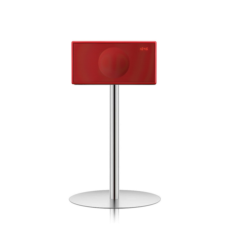 Geneva model M Rood - met Floorstand & incl. Chromecast audio WiFi