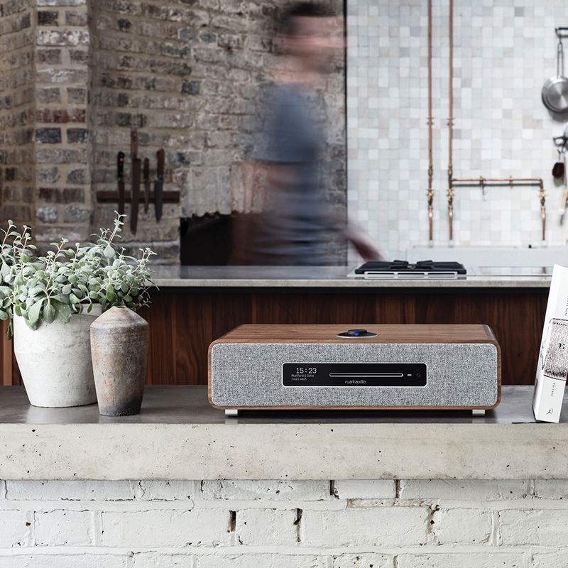Ruark Audio R5 HiFi - streaming - multiroom - DAB+ radio - CD-speler